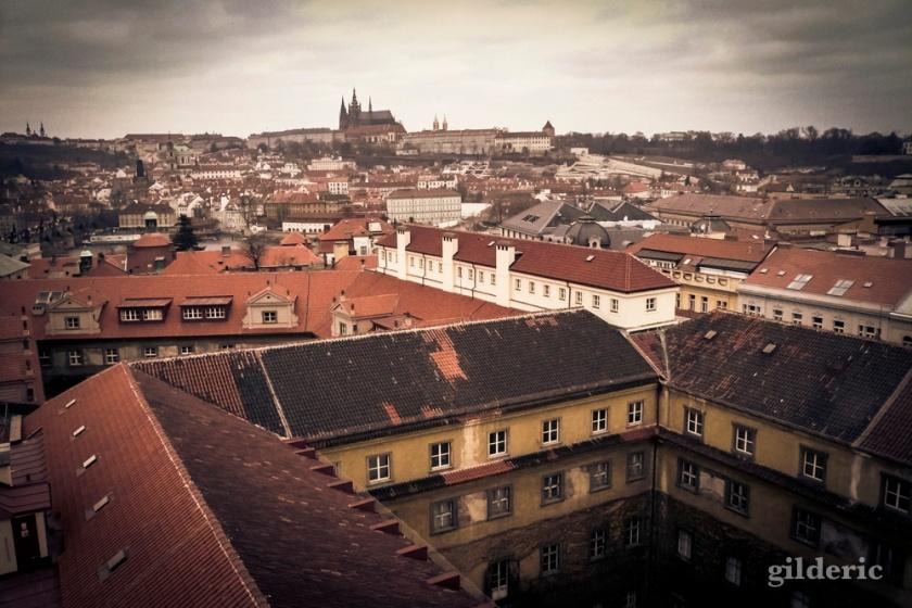 Prague et son château - Photo : Gilderic