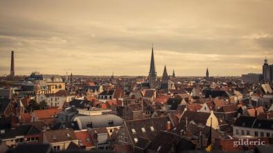 Une mer de toit (Gand, Belgique) - Photo : Gilderic