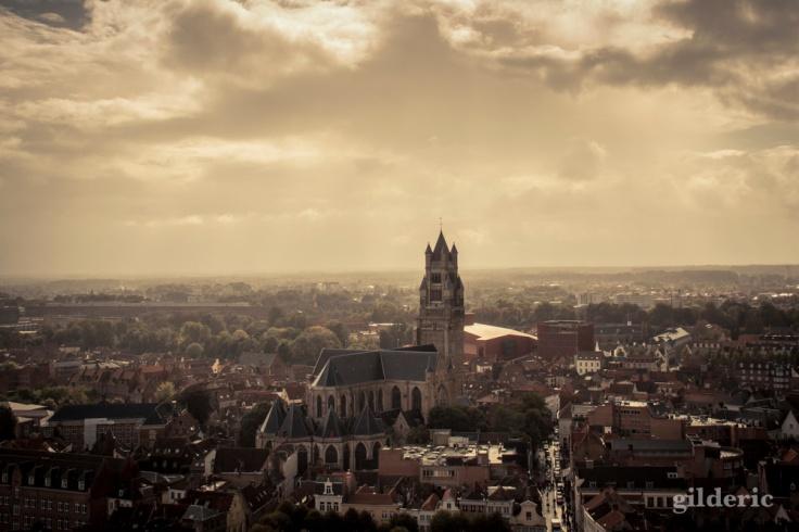 Une mer de toits (Bruges, Belgique) - Photo : Gilderic