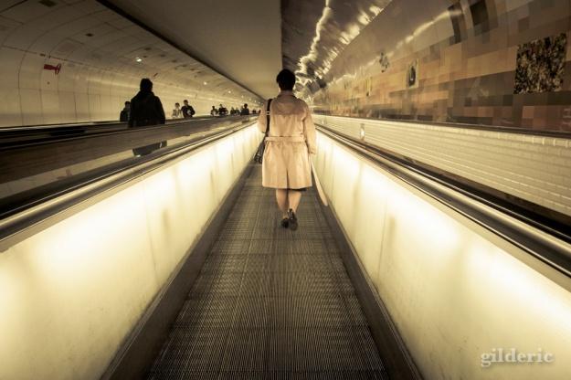 Métro Montparnasse - Paris - Photo : Gilderic