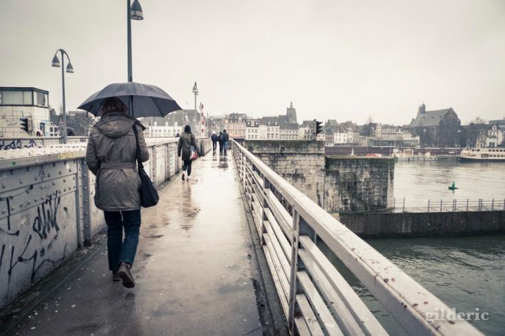Maastricht sous la pluie - Photo de Gilderic