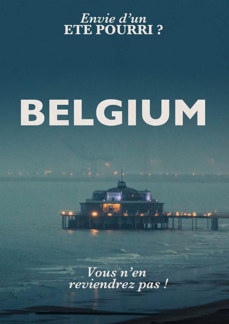 Un été pourri en Belgique - photo et design : Gilderic