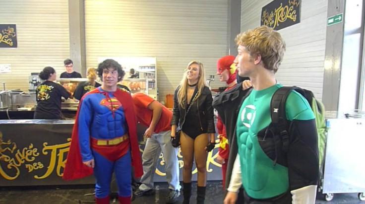 Superman et Green Lantern (FACTS 2012)