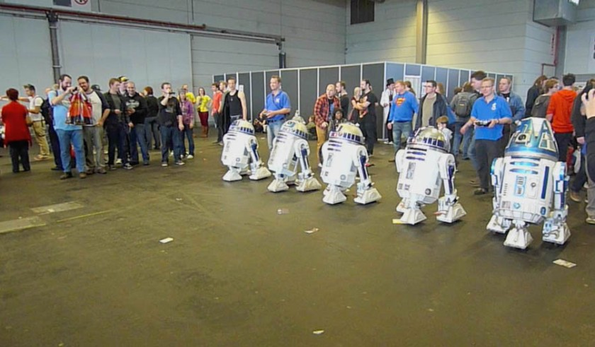 Course de R2-D2 (FACTS 2012)