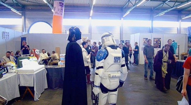 Dark Vador et Stormtrooper (FACTS 2012)
