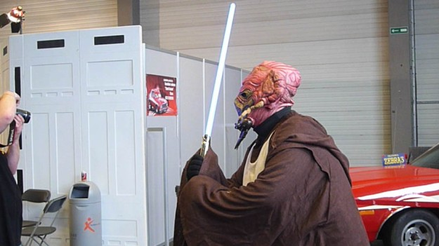 Maître Jedi cosplay (FACTS 2012)