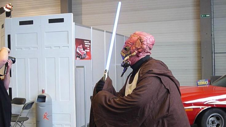 Maître Jedi cosplay (FACTS 2012)