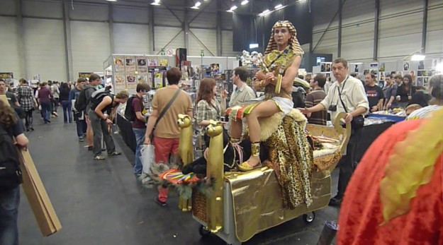 Pharaon cosplay (FACTS 2012)