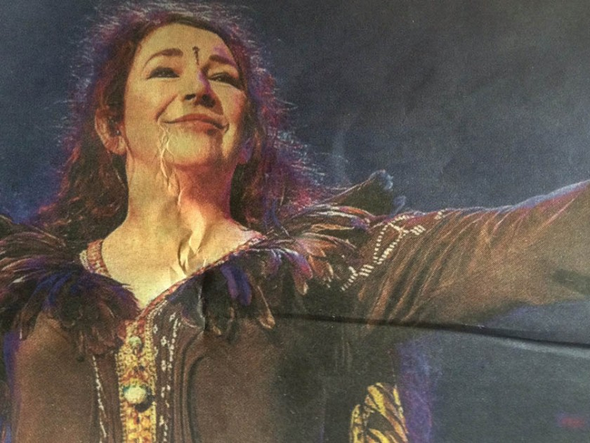 Kate Bush - Before The Dawn - Hammersmith Apollo - photo
