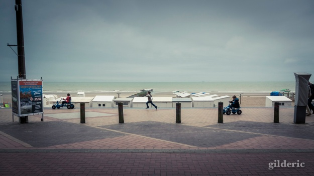 The Running Boy... Blankenberge - Photo : Gilderic