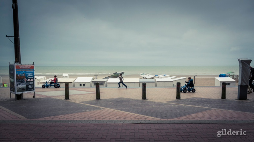 The Running Boy... Blankenberge - Photo : Gilderic