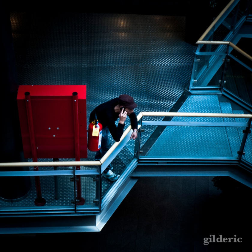 A Red Hot Call (Galeries Saint-Lambert, LIège) - Photo : Gilderic