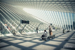 Gare de Liège-Guillemins - Photo : Gilderic