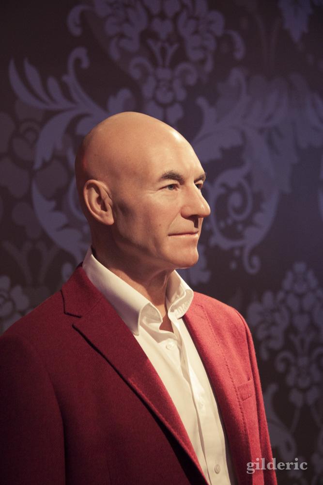 Patrick Stewart (Professeur Xavier) chez Madame Tussauds - Photo : Gilderic