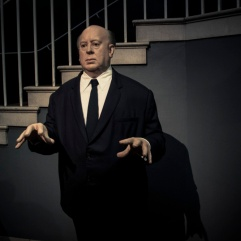 Alfred Hitchcock chez Madame Tussaud