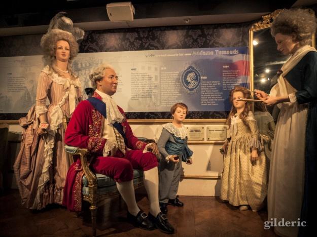 Louis XVI, Marie Antoinette et Madame Tussauds