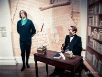 Oscar Wilde et Charles Dickens chez Madame Tussauds