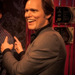 Jim Carrey chez Madame Tussaud