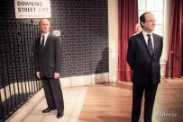 Vladimir Poutine et François Hollande chez Madame Tussaud