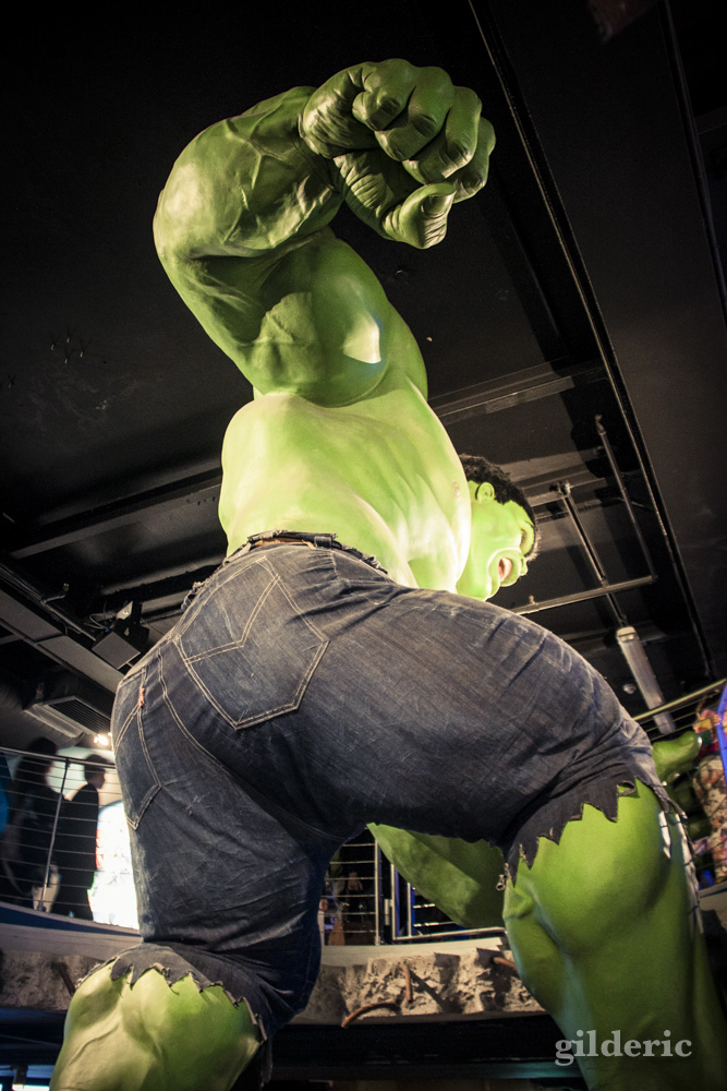 Hulk chez Madame Tussauds