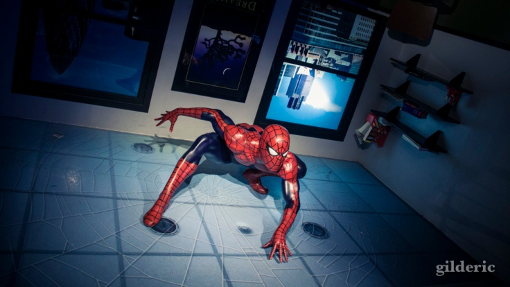 Spiderman chez Madame Tussauds