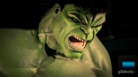 Hulk pas content chez Madame Tussaud