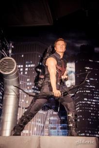 Hawkeye (Avengers) chez Madame Tussaud