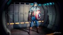 Captain America (chez Madame Tussaud)