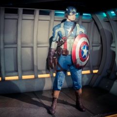 Captain America (chez Madame Tussaud)