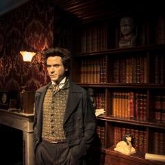 Robert Downey Jr (Sherlock Holmes) chez Madame Tussaud