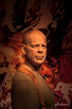 Bruce Willis chez Madame Tussaud