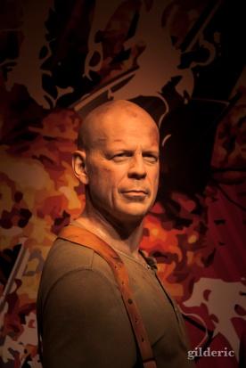 Bruce Willis chez Madame Tussaud