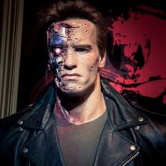 "Arnold ""Terminator"" Schwarzenegger"" chez Madame Tussaud"