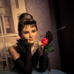 Audrey Hepburn chez Madame Tussaud