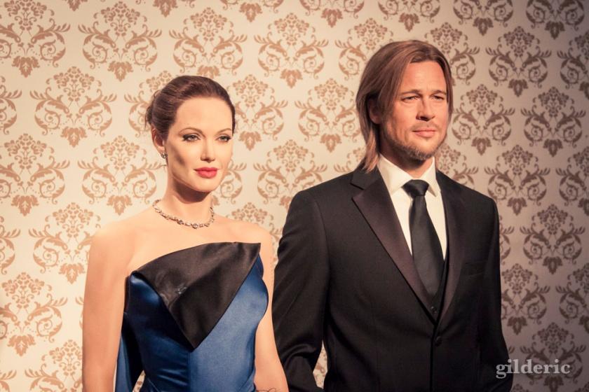 Angelina Jolie et Brad Pitt, stars de Madame Tussauds (Londres) - Photo : Gilderic
