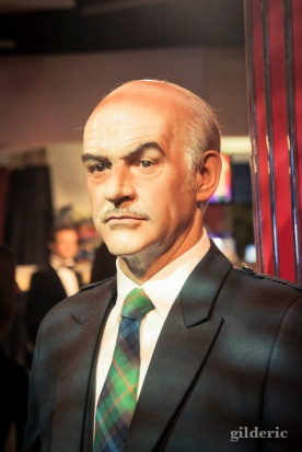 Sean Connery chez Madame Tussaud