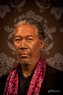 Morgan Freeman chez Madame Tussaud