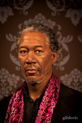 Morgan Freeman chez Madame Tussaud