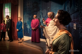 Gandhi, Thatcher et le pape chez Madame Tussaud