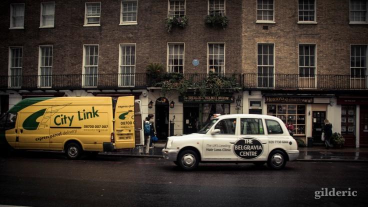 Musée Sherlock Holmes, 221B Baker Street - Photo : Gilderic