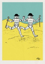 Tintin vs Star Wars : les Dupondt Stormtroopers - Dessin : Gilderic