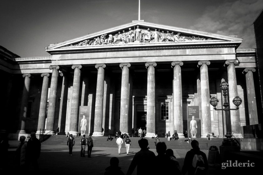 British Museum London (façade) - Photo : Gilderic
