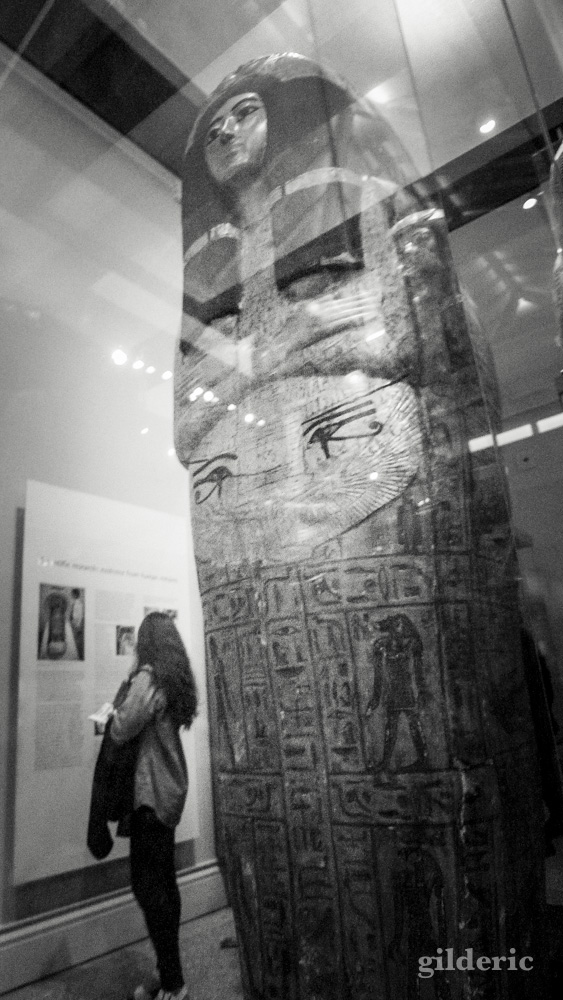 Sarcophage de momie égyptienne, British Museum