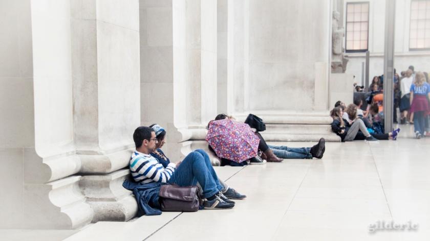 Cour centrale, British Museum, Londres