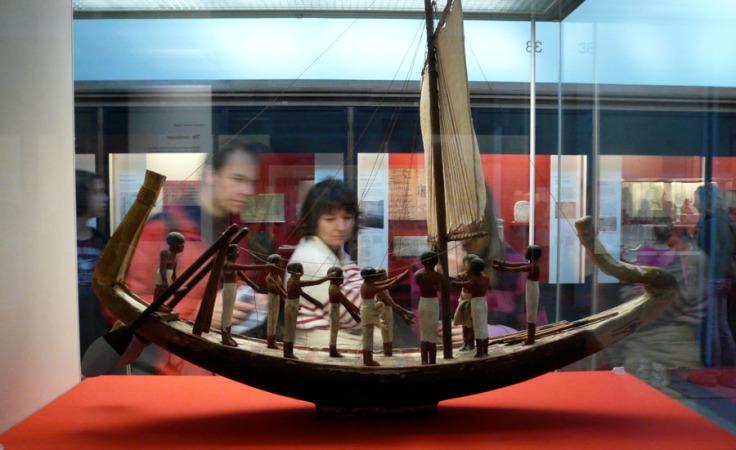 Felouque égyptienne (modèle réduit) - British Museum - Photo : Gilderic