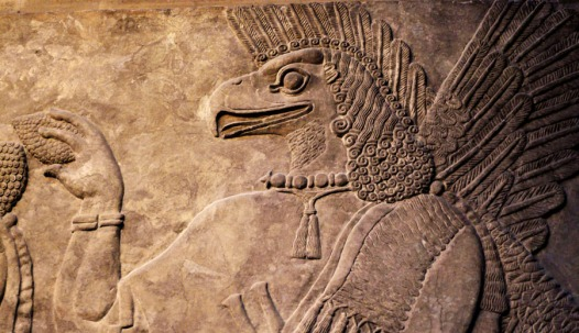 Bas-relief assyrien (British Museum, Londres) - Photo : Gilderic