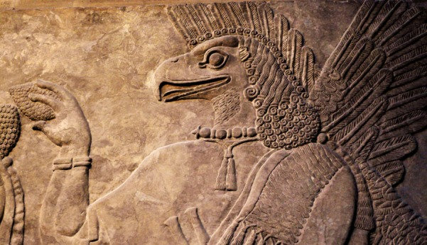 Bas-relief assyrien (British Museum, Londres) - Photo : Gilderic