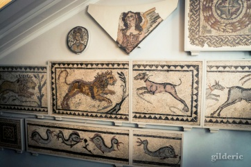 Mosaïques romaines (British Museum, Londres) - Photo : Gilderic