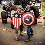 FACTS 2014 Cosplay : Captain America