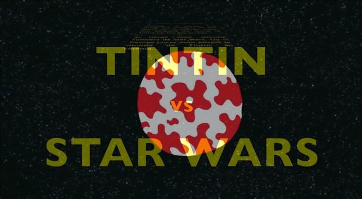 Star Wars vs Tintin trailer) screenshot - A project by Gilderic